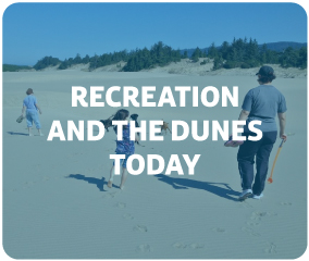 Recreation and the dunes today